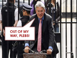 Andrew Mitchell Chief Whip Pleb Image